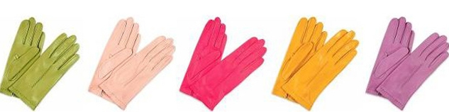 5 color gloves