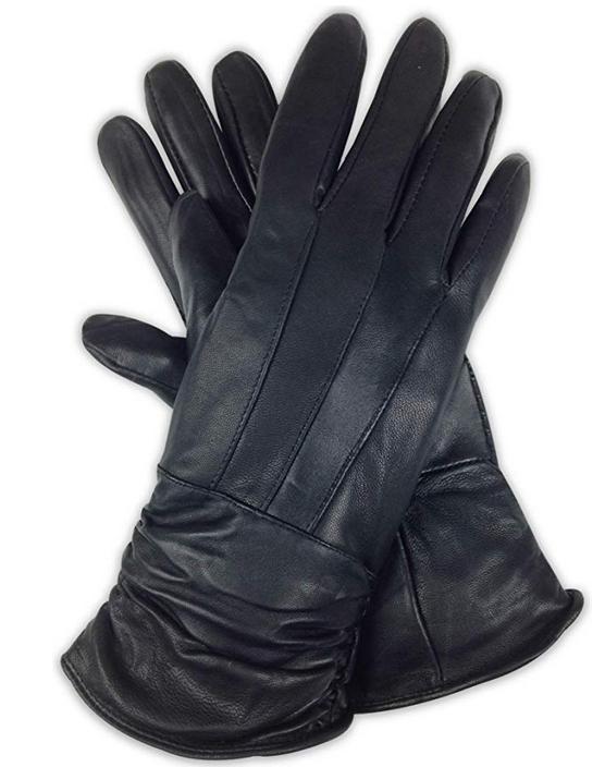 Livativ Black Women's Gloves