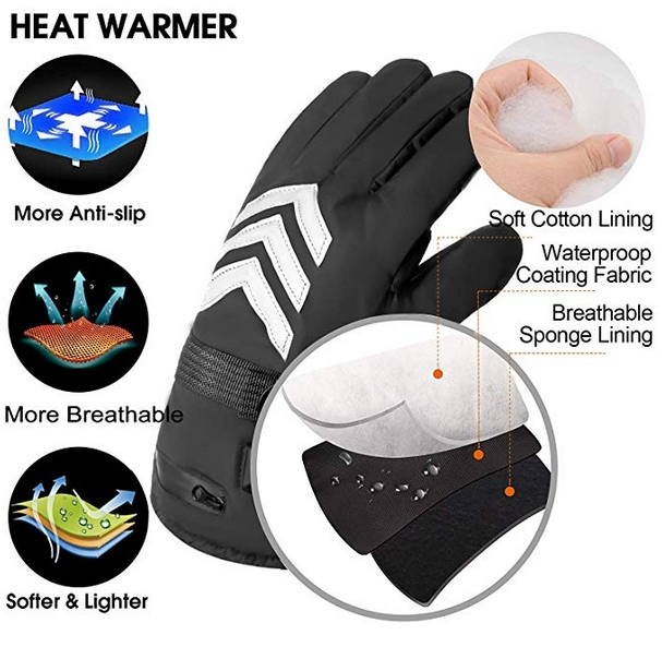 Romeifly Electric Heated Gloves