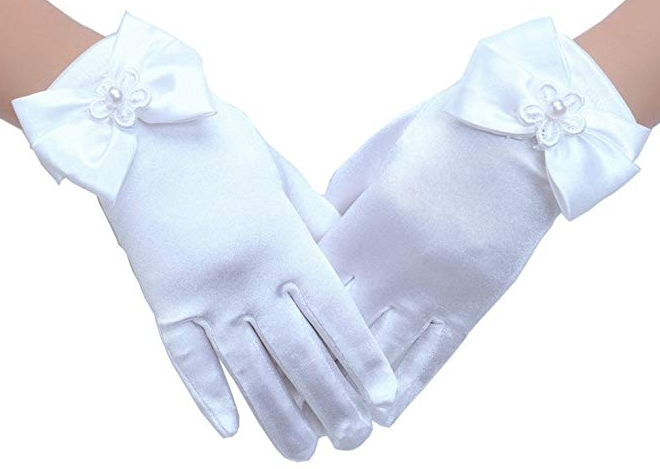 Tandi Girls Gorgeous Satin Gloves