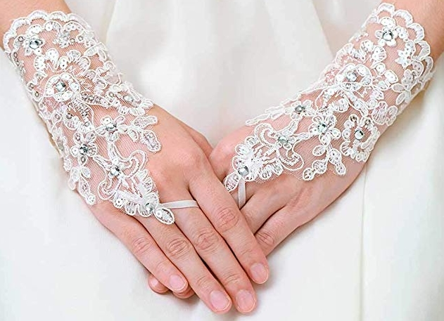 Wedding Gloves Lace Bridal
