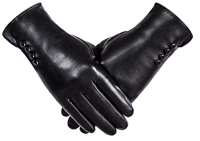 Alepo Winter PU leather gloves