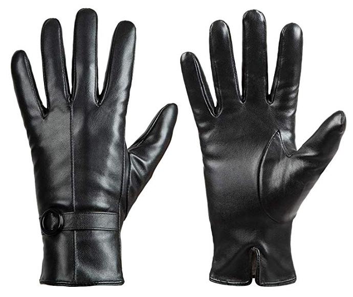 Dsane leather gloves