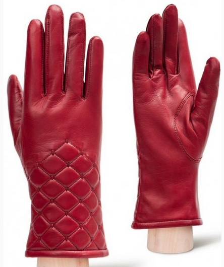 Eleganzza gloves for women red