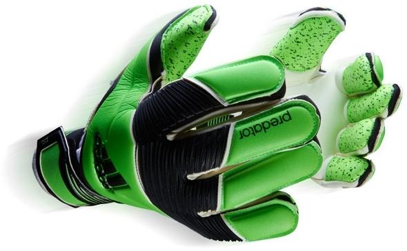 green goalkeeper gloves