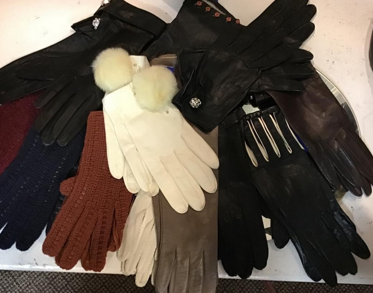 lots of gloves