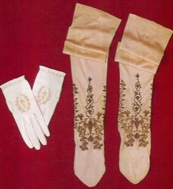 Napoleon Bonaparte Coronation gloves