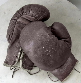 modern boxing gloves