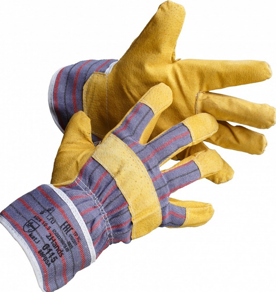 Classification of work gloves by types of protection